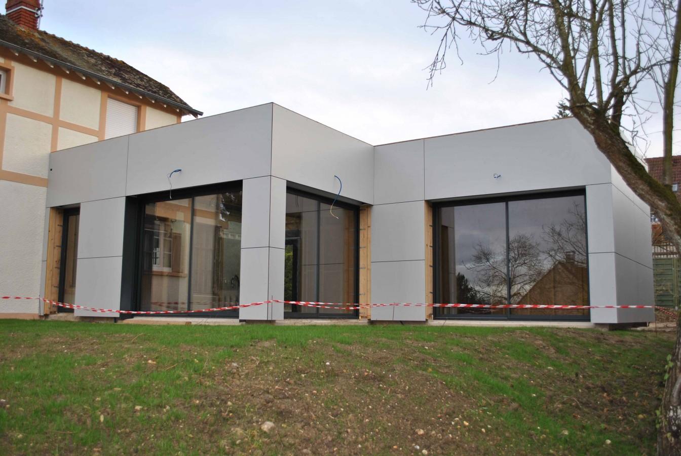 Agrandir maison plain pied ventana blog for Concepteur de maison