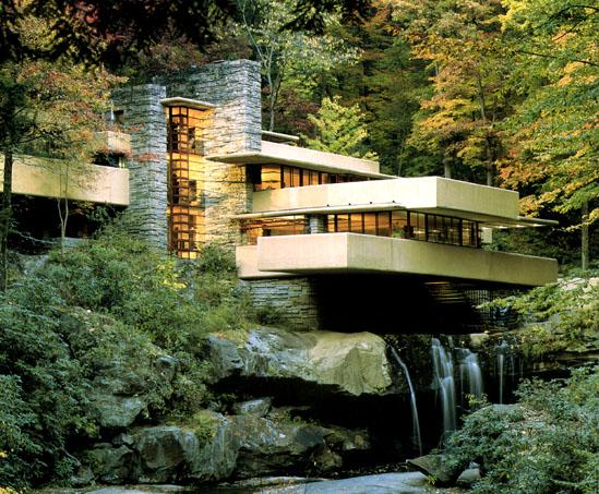Maison moderne : Frank Lloyd Wright - Maison Fallingwater