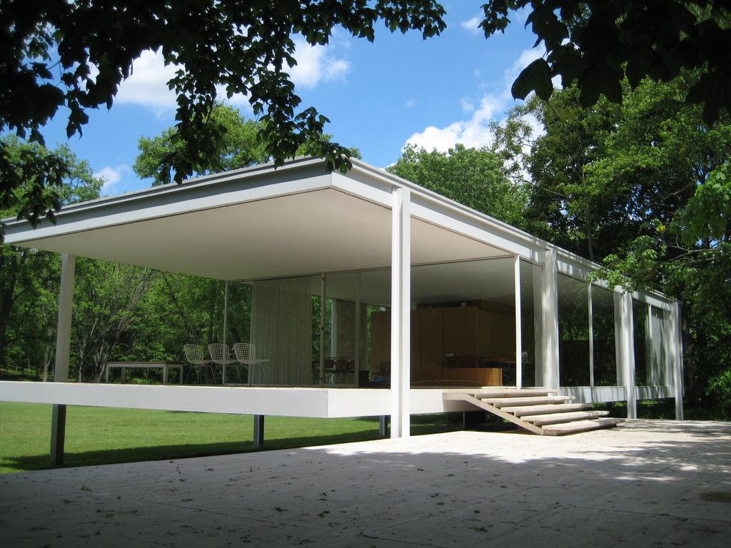 Maison moderne mies van der rohe maison farnsworth
