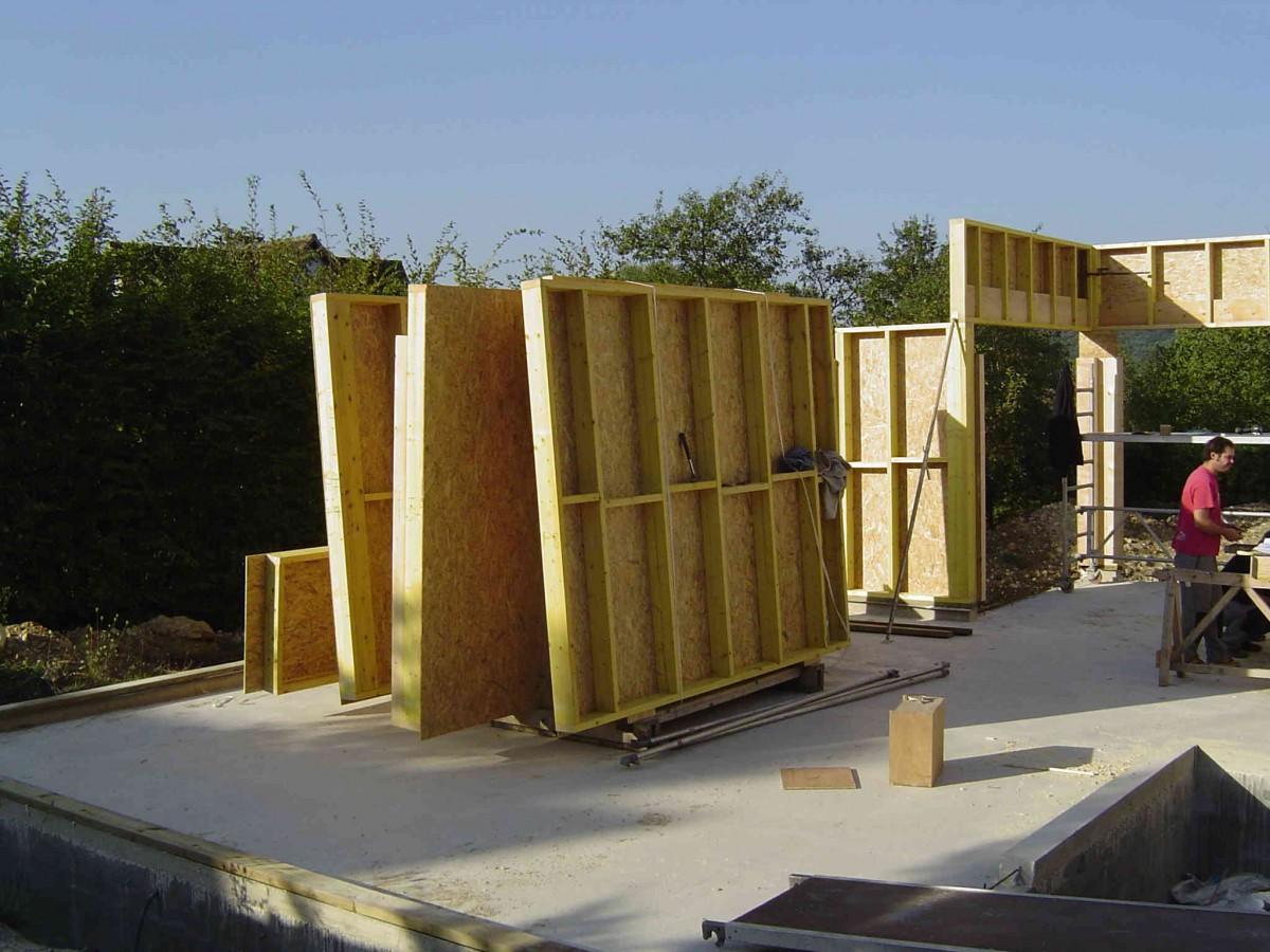 Tekart architecture architectes associ s concepteur de maison contemporai - Comment faire agrandissement bois ...
