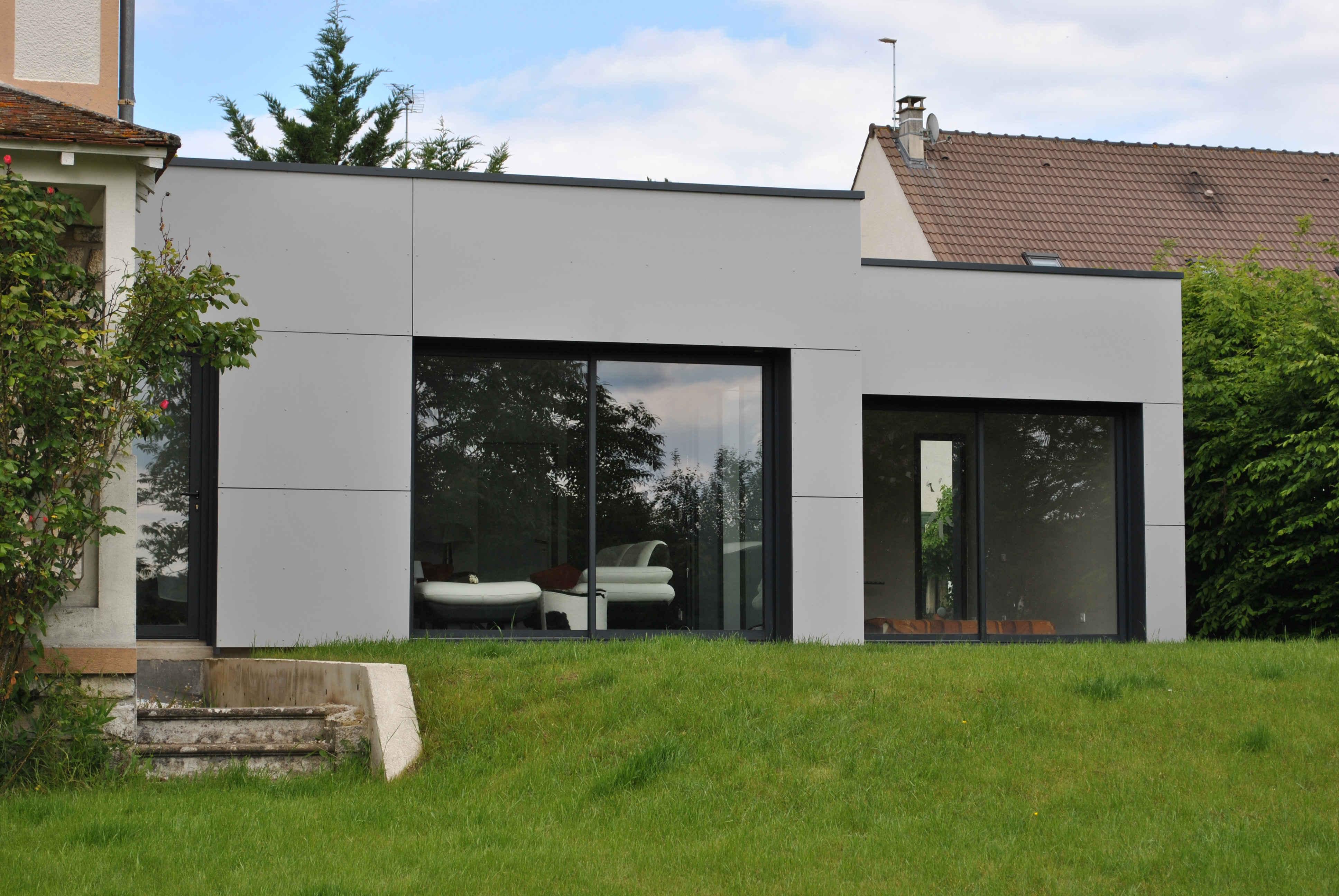 Maison Bois Contemporaine Ile De France u2013 Ventana Blog # Maison En Bois Ile De France