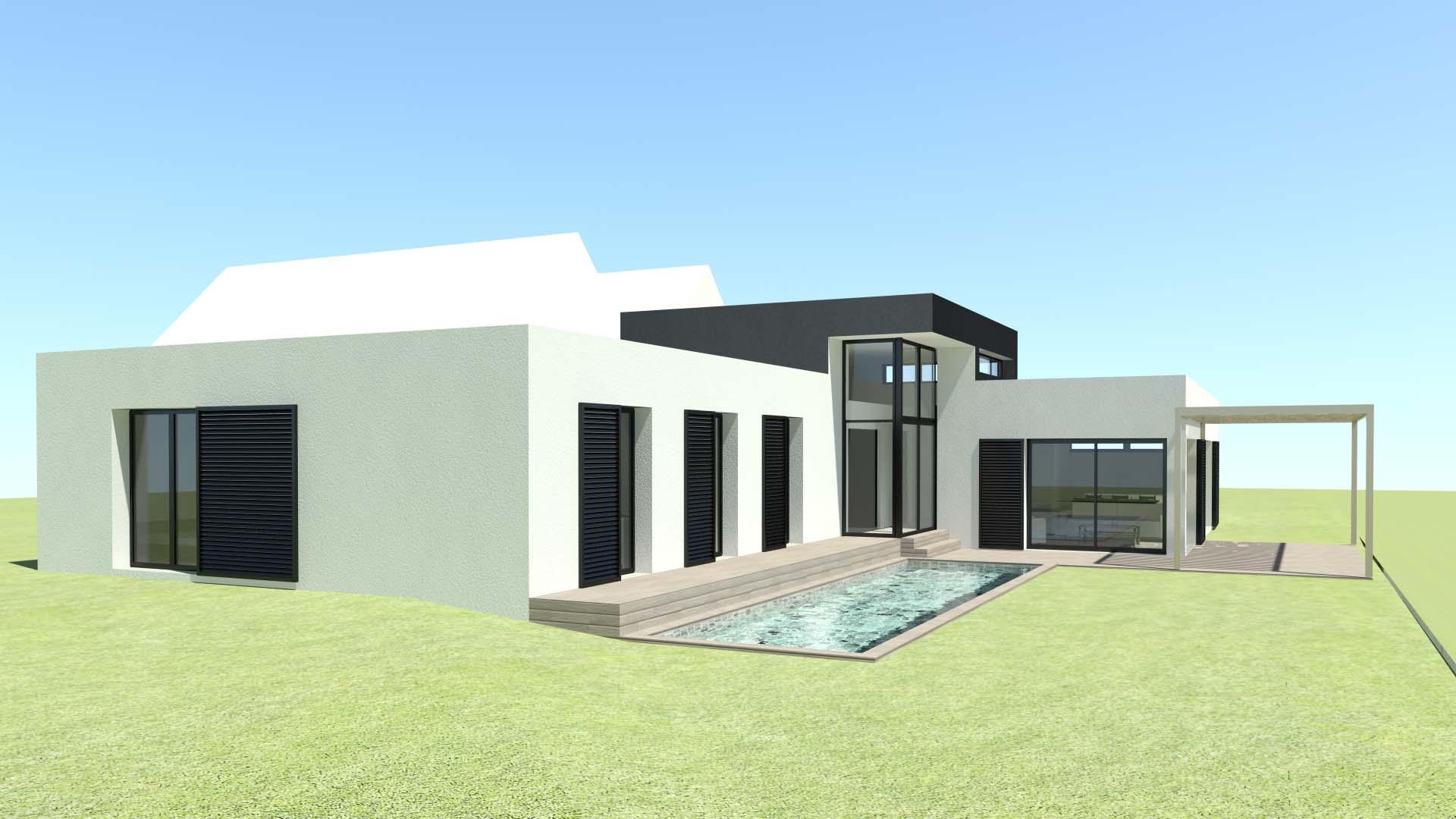 Tekart Architecture - Architectes associés : concepteur de maison contemporaine, extension de ...
