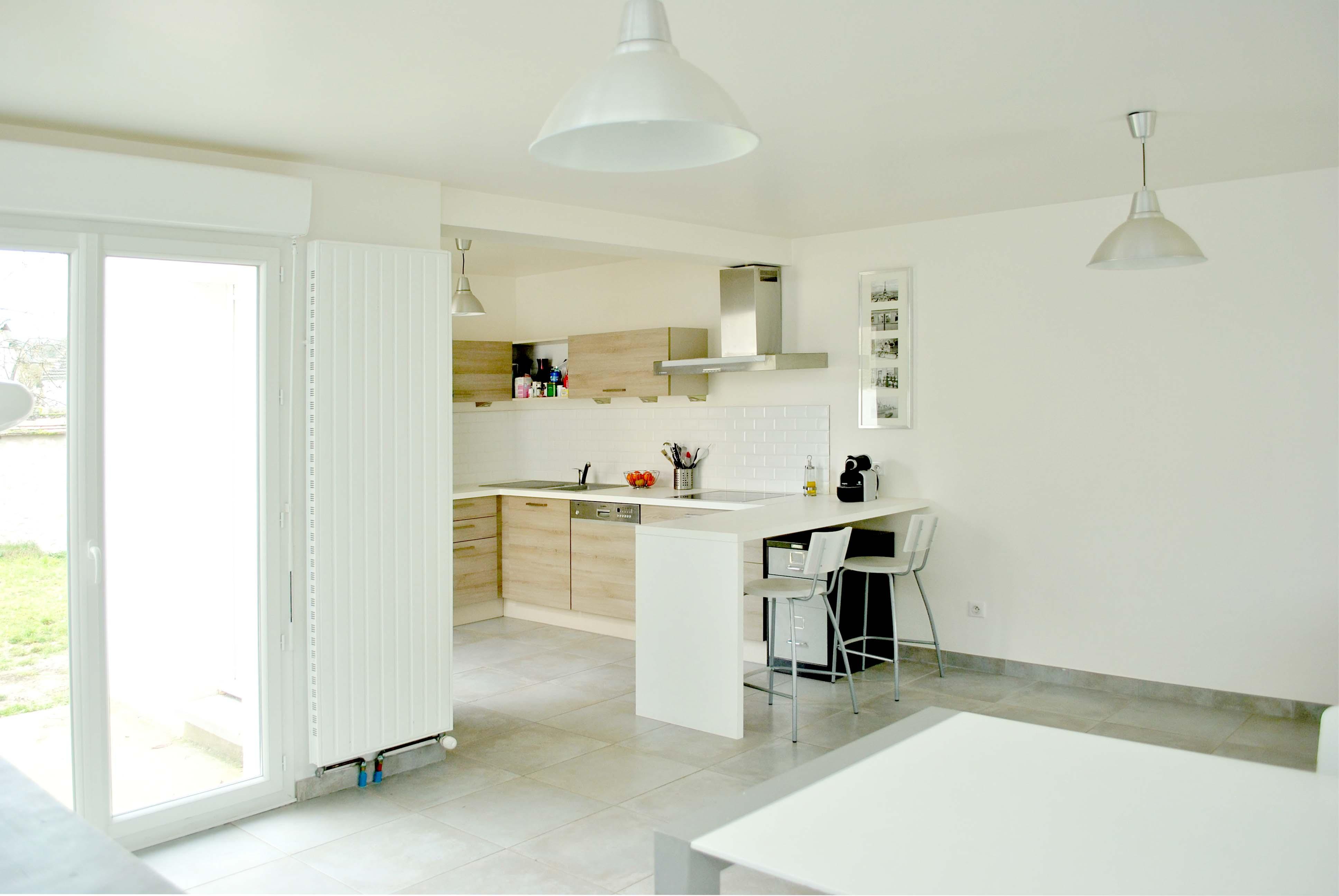 photo 1 interieur extension maison avn1. Black Bedroom Furniture Sets. Home Design Ideas