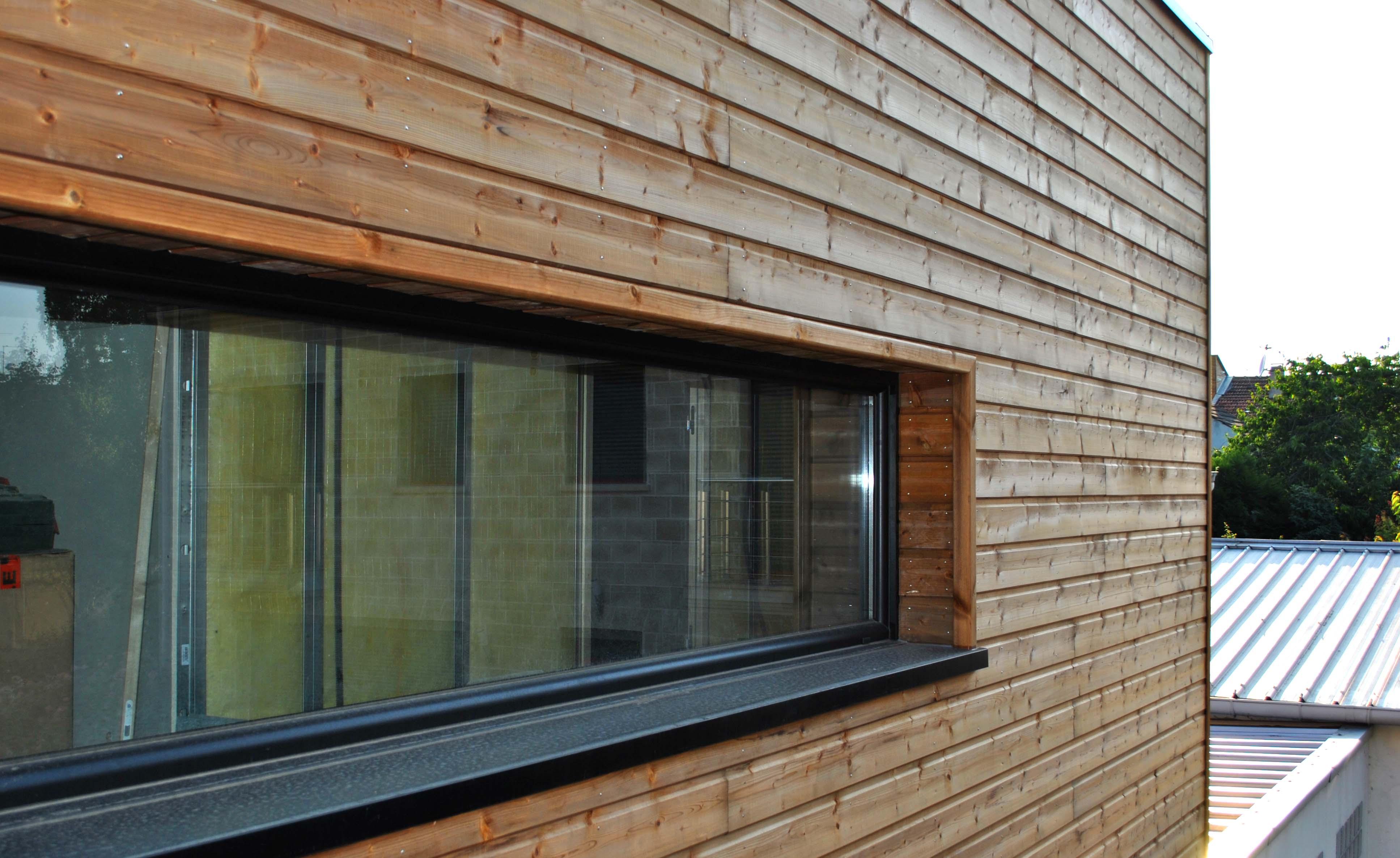 Tekart architecture architectes associ s concepteur de for Maison ossature bois marne
