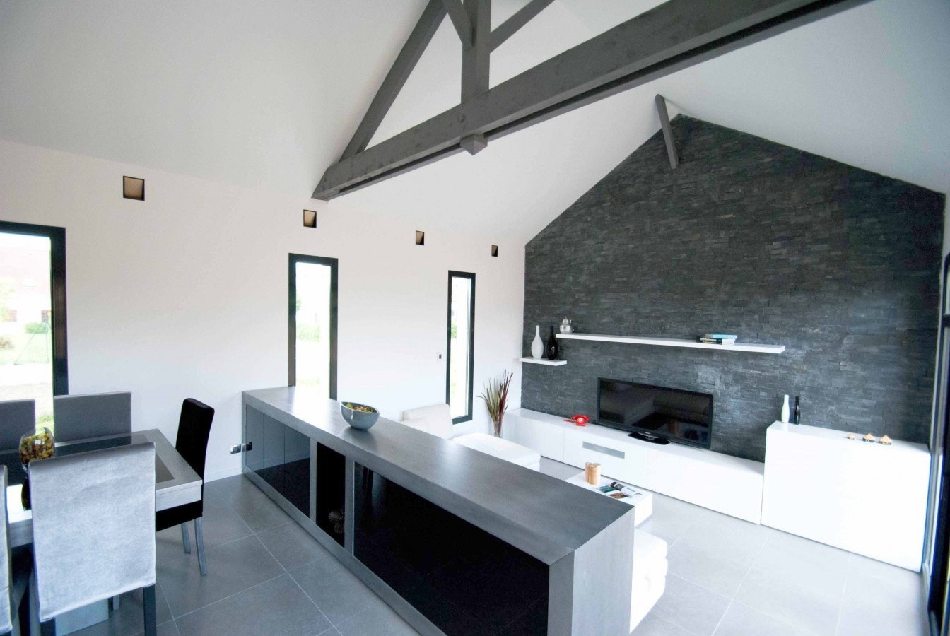 interieur maison contemporaine architecte
