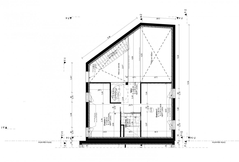 tekart architecture architectes associ s concepteur de maison contemporaine extension de. Black Bedroom Furniture Sets. Home Design Ideas