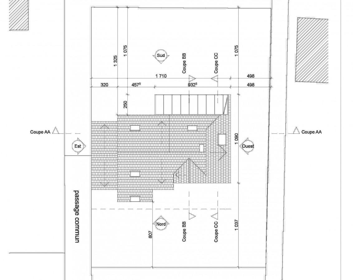 plan extension maison plan de mettant en avant en biais de la agrandir projet 1 le plan avant. Black Bedroom Furniture Sets. Home Design Ideas