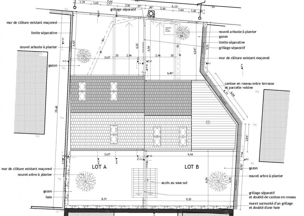 Good associs concepteur de maison extension de with maison - Plan de maison mitoyenne ...