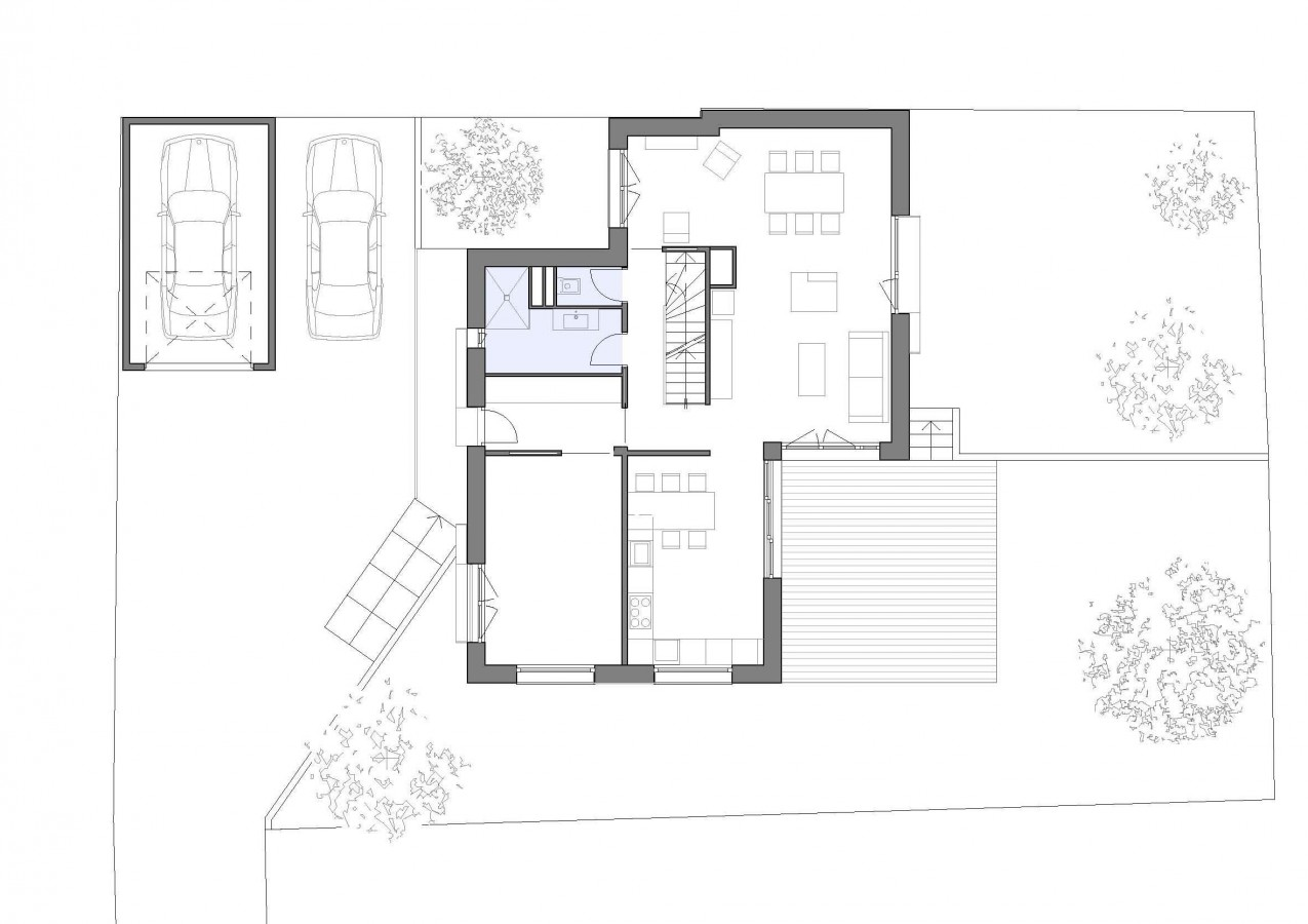 Plan architecte maison contemporaine maison moderne for Plan maison architecte contemporaine