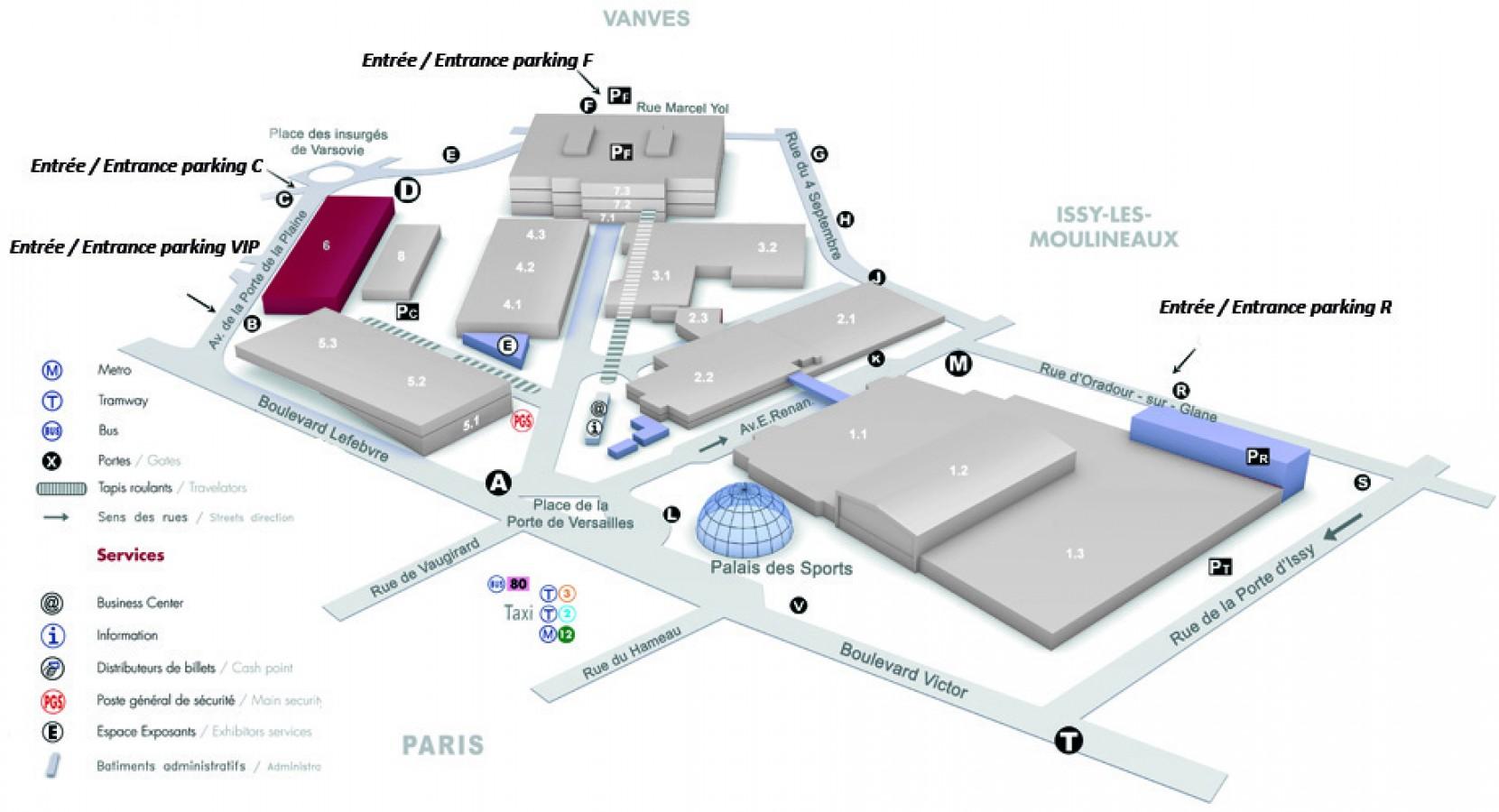 Tekart architecture architectes associ s concepteur de for Porte de versailles salon baby