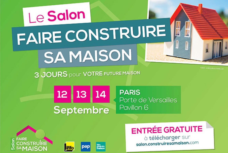 Salon faire construire sa maison 2014 image1 image2
