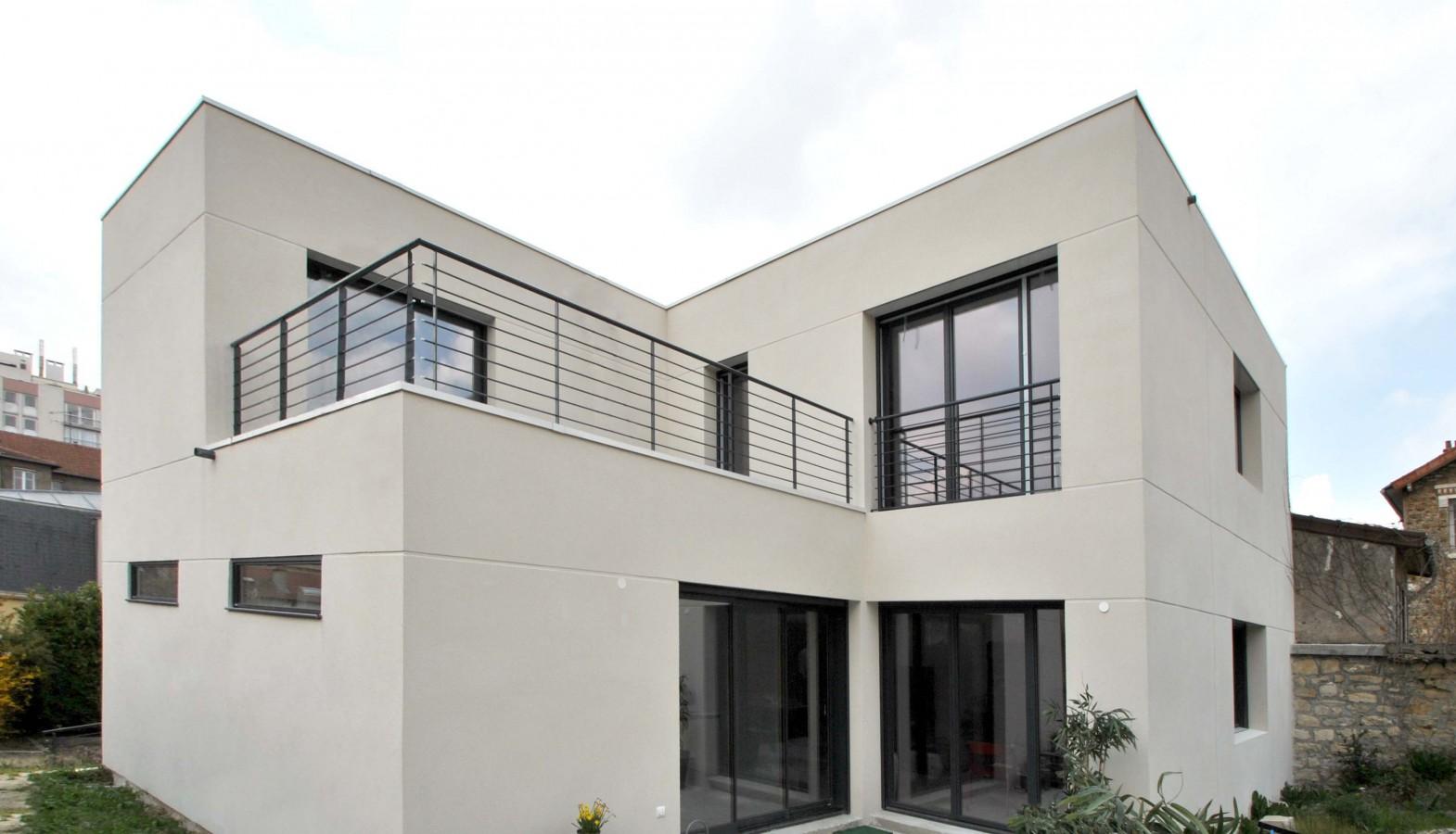 maison architecte val de marne maison moderne